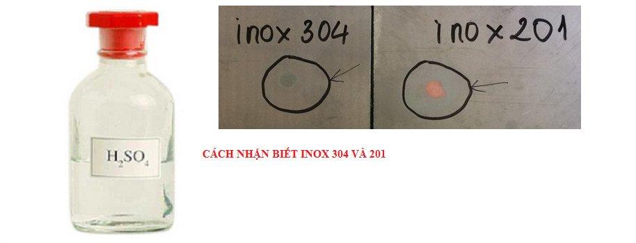 INOX 304 LÀ GÌ? CÁCH PHÂN BIỆT INOX 304 VỚI CÁC LOẠI INOX KHÁC
